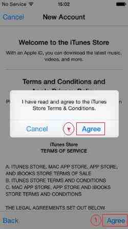 click-on-agree-in-app-store-screenshot